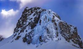 美丽的岩石在阿尔卑斯 库存图片