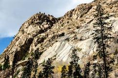 美丽的岩石地形 库存图片