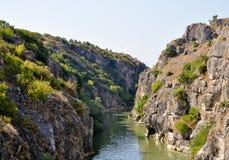 美丽的峡谷 免版税库存照片