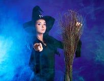美丽的巫婆 库存图片