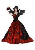 美丽的巫婆 免版税库存照片