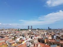 美丽的巴塞罗那 免版税库存图片