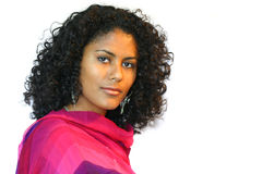 美丽的巴西妇女 免版税库存图片