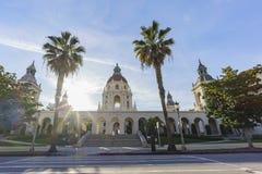 美丽的帕萨迪纳市政厅,洛杉矶,加利福尼亚 免版税库存图片
