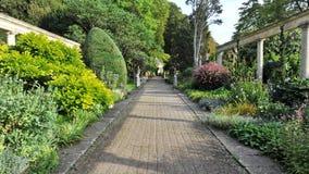美丽的庭院路径 免版税库存图片
