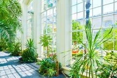 美丽的庭院,法国样式联合国科教文组织, Kvetna Zahrada, Kromeriz,捷克 免版税库存图片