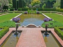 美丽的庭院 图库摄影