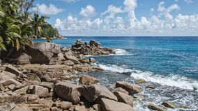 美丽的异乎寻常的海滩 图库摄影