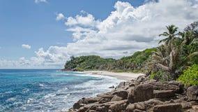 美丽的异乎寻常的海滩 库存图片
