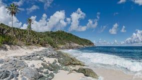美丽的异乎寻常的海滩 库存照片