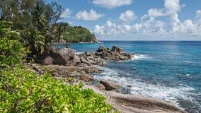 美丽的异乎寻常的海滩 免版税库存图片