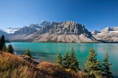 美丽的弓湖 库存图片