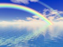 美丽的彩虹 免版税库存照片