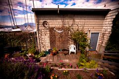 美丽的微小的房子 免版税图库摄影