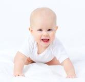 美丽的微笑的孩子 图库摄影