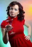 美丽的性感的妇女年轻人 免版税图库摄影