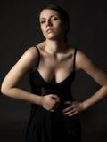 美丽的性感的妇女年轻人 免版税库存照片