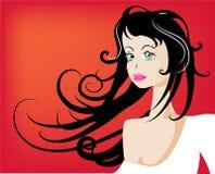 美丽的性感的妇女 免版税库存照片