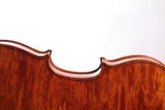 美丽的意大利小提琴 免版税库存照片