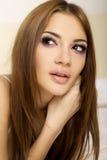 美丽的成人淫荡妇女 免版税库存照片