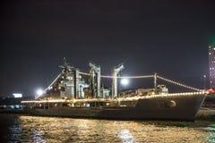 美丽的战舰 免版税库存照片