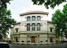 美丽的房子在2014年5月31日,罗马的老城市 免版税库存图片