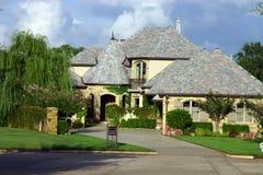美丽的房子 库存图片