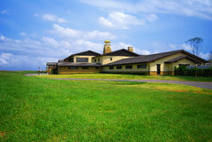 美丽的房子 免版税图库摄影