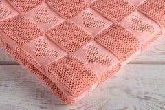 美丽的手工制造毯子 免版税图库摄影