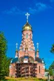 美丽的教会在俄罗斯 库存图片