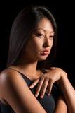 美丽的新亚裔妇女 免版税库存照片