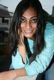 美丽的新印第安夫人 库存图片
