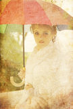 美丽的新娘公园 图库摄影