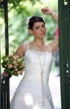 美丽的新娘妇女 免版税库存照片