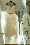 美丽的新娘婚装 库存图片