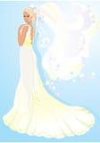 美丽的新娘年轻人 向量例证
