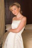 美丽的新娘年轻人 图库摄影