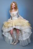 美丽的新娘礼服穿戴的排除 免版税图库摄影