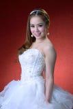 美丽的新娘纵向  免版税图库摄影