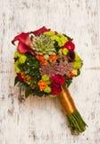 美丽的新娘花束 免版税库存图片