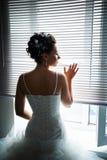美丽的新娘视窗 免版税库存图片