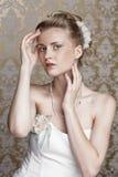 年轻美丽的新娘 库存图片