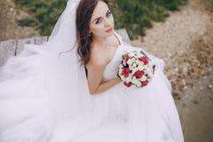 美丽的新娘HD 库存图片