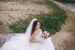 美丽的新娘HD 免版税库存照片