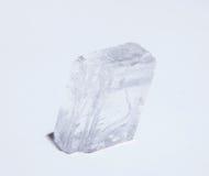 美丽的无色水晶 免版税库存照片