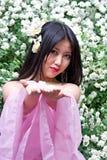 美丽的日本妇女 图库摄影