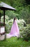 美丽的日本妇女 库存图片