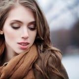 美丽的时装模特儿面孔 15个妇女年轻人 免版税库存图片