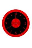 美丽的时钟墙壁 库存图片