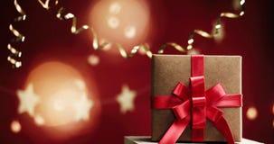 美丽的时髦的圣诞节装饰 库存图片